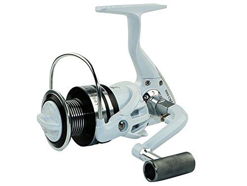 EEOZY Salzwasser Angelrollen metall Aluminium Spinnrolle Süßwasser Angelrolle mit 12 + 1BB Kugellager links / rechts austauschbarer zusammenklappbarer Griff (3000)