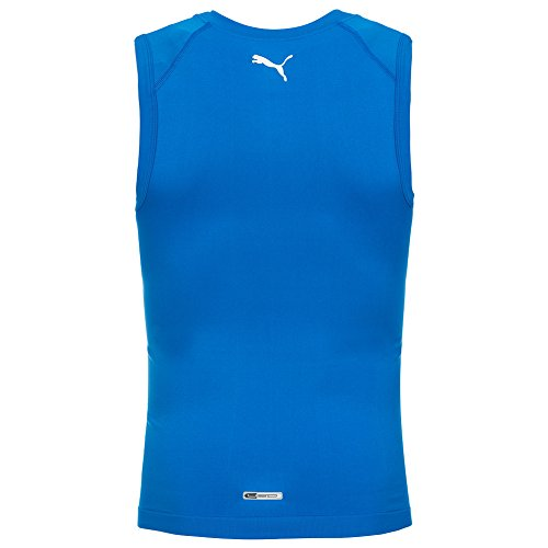 Puma Mannen Bodywear mouwloos vest Top Blue 740495-04