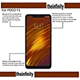 Poco F1 Tempered Glass Screen Protector Screen Guard With Installation Kit For SuperdealsForTheinfinity (Transparent)