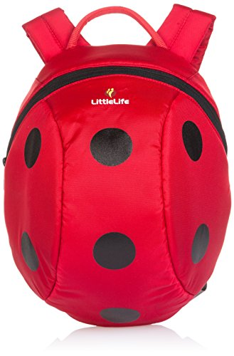 Animal Baby Names (Relags LittleLife Kinder-Daypack Animal Kinder-Rucksack, 40 cm, Marienkäfer)