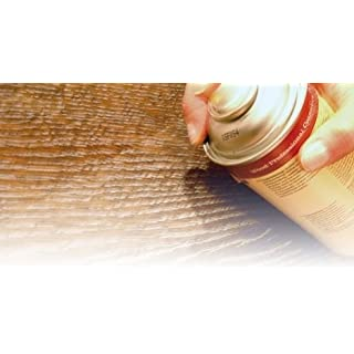 Möbelwachs Spray Holz Wachs Bienenwachs WAX 400ml (Dunkelbraun (Nussbaum antik))
