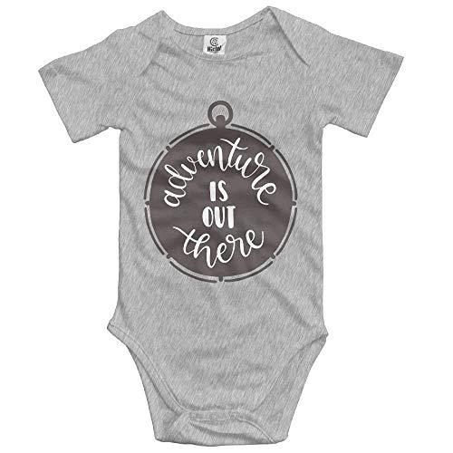 xcvgcxcvasda Ärmelloser Strampler für Babys Adventure Out There Unisex Baby Short Sleeve Bodysuit Cotton Comfortable Cute Pattern - Carters Striped Body