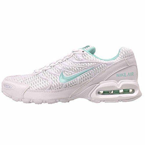 Nike scarpe da corsa air max torch 4, bianco (infradito colorati estivi, con finte perline), 38.5 eu