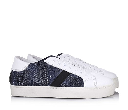 D.A.T.E. Date Hill Low 3 Pop Denim Sneakers Junior Unisexe Denim