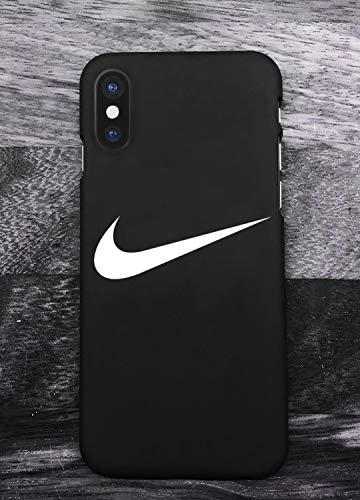 buy online 6c86f 902b0 Sports Logo iPhone X XS Hülle Handyhülle, Ultra Dünn Hard Silikon  Schutzhülle Sports Logo iPhone X XS Hülle Cover, Hülle für iPhone X XS  (Schwarz)