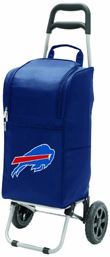 nfl-buffalo-bills-insulated-cart-cooler-with-wheeled-trolley-navy-by-picnic-time