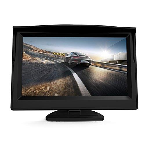 GOGO ROADLESS 5 Zoll Digital TFT LCD Farb Monitor für Auto Rückfahrkamera von