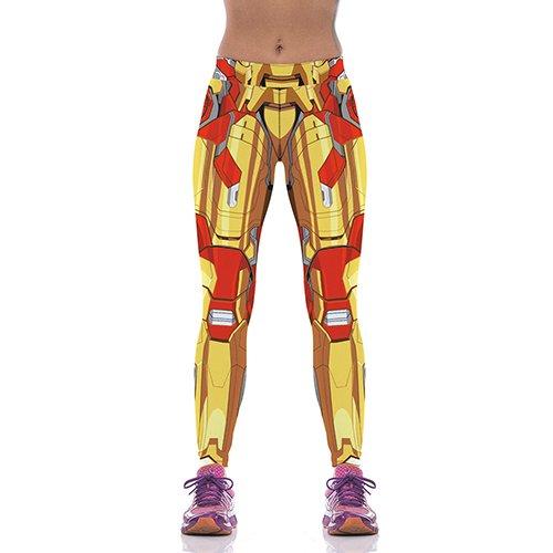 L'automne Les femmes sexy Leggings Collants Homme de fer Presse à Pantalons Pantalon Pantalones Compression élastique Fitness Leggins...
