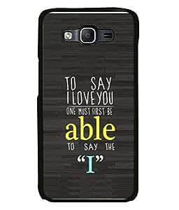 FUSON Designer Back Case Cover for Samsung Galaxy On5 (2015) :: Samsung Galaxy On 5 G500Fy (2015) (Illustration Inspiration Change Motivate )