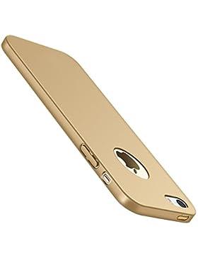 Funda Iphone 5/5S Carcasa Iphone SE Ultra Ligero Sedoso Anti-Arañazos Duro Plástico PC Funda Protectora de Teléfono...