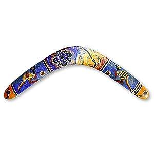 Unbekannt Boomerangfan boomerangfanaboriginal-r rechts 44,5cm Aboriginal...