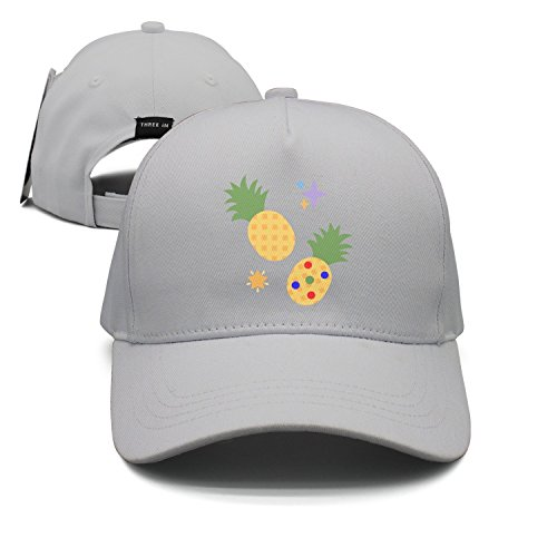 Muffin Pineapple Star Unisex Baseballmütze Snapback Hip Hop Caps Sport Sonnenhüte ausgestattet