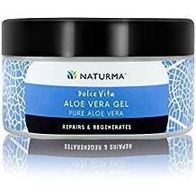 Naturma Pure Aloe Vera Gel, Natural and Organic, Repairs Regenerates Cools, 100gm