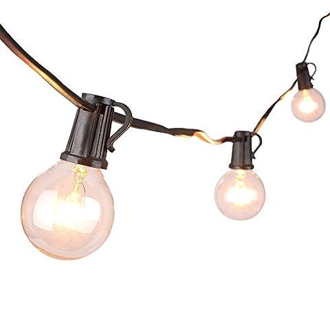 Sunix® 7,62m Globe Schnur Lichter, Globe String Licht mit 25