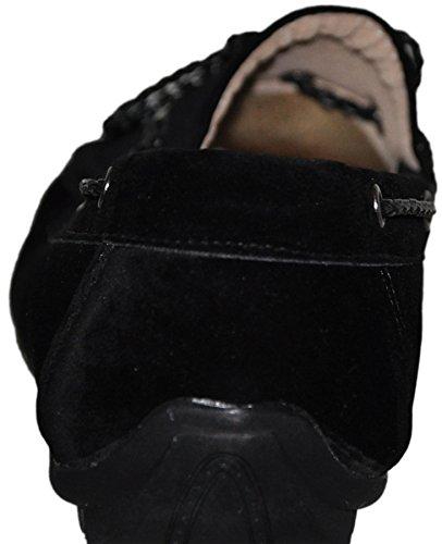 Mocassins à doublure intérieure cuir g001 Noir 002