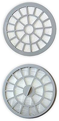 Polti PAEU0304 - Kit de 2 filtros para el aspirador Forzaspira MC330 Turbo, color blanco/gris