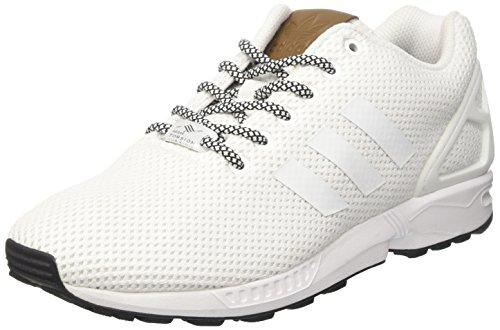 adidas Herren ZX Flux Sneaker Weiß Footwear White, 40 2/3 EU