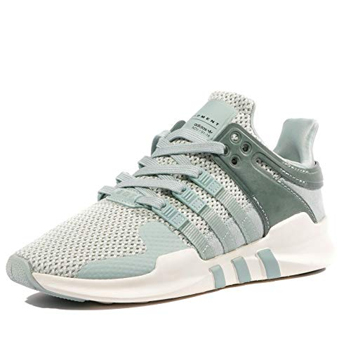 adidas Originals EQT Equipment Support ADV Running Schuhe Laufschuhe Grau Grün, Schuhgröße:EUR 38, Farbe:Grün (Running Support Adidas Equipment)