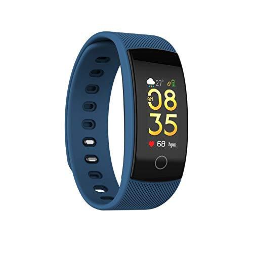 OPAKY Bluetooth Smart Watch Armband Herzfrequenz Blutdruck Fitness Track für Kinder, Damen, Männer