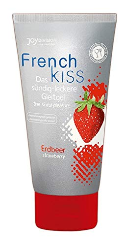 Joy Division French Kiss, Lubricante de Fresa, 75 ml