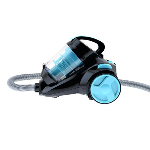 H.Koenig SLS810 Silence+ beutelloser Staubsauger / 2,5 Liter Kapazität / HEPA Filter / EEK A / blau/schwarz