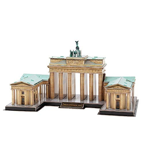 Comfortable Home Brandenburger Tor 3D-Puzzle-Modell, 3D Stadtmodell Hohe Simulation...