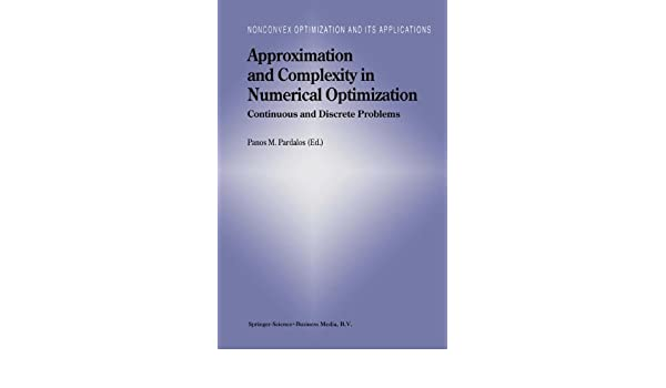 Complexity in numerical optimization