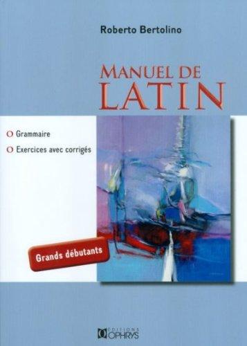 Manuel de latin