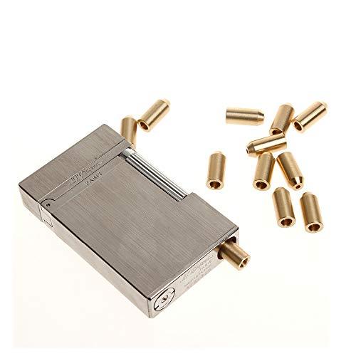 Myhonour Butangas Adapter Messing Gas Refill Adapter für S.T Dupont Memorial Feuerzeug 1St