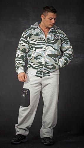 BIG SAM SPORTSWEAR COMPANY Camouflage KAPUZENJACKE Jacke Winterjacke Bomberjacke *4061* - 3
