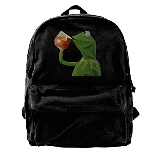 02a4e1a1ff29 But That s None of My Business Canvas Shoulder Backpack Backpack For Men    Women Teens College