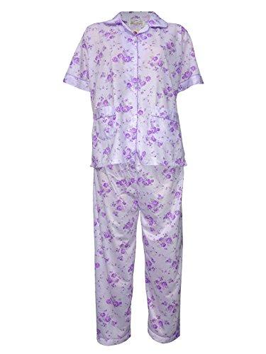femiss - Ensemble de pyjama - Femme Multicolore Bigarré Violet