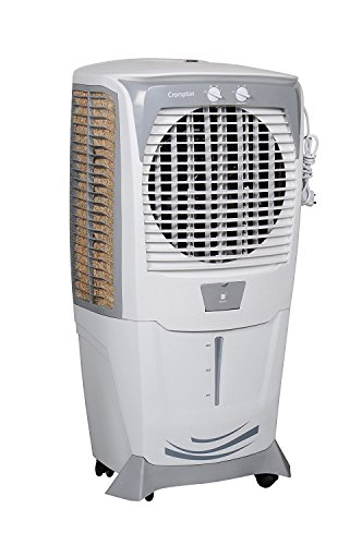 Crompton Ozone 55Ltrs Honey Comb Pad Desert Air Cooler (White-Grey)