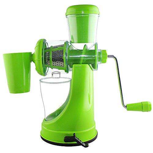 Magikware Fruits & Vegetable Juicer Mixer Grinder with Waste Collector, Green
