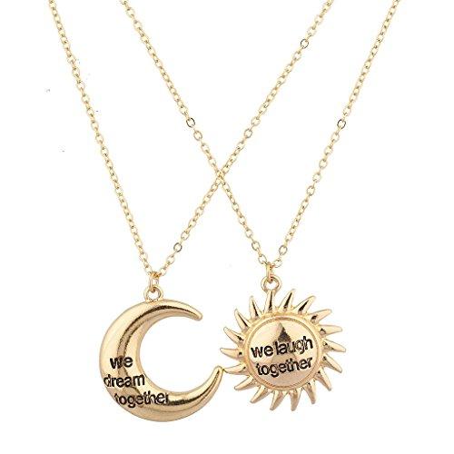 Lux accessori che ridere insieme sognare insieme collana Set (2pezzi)