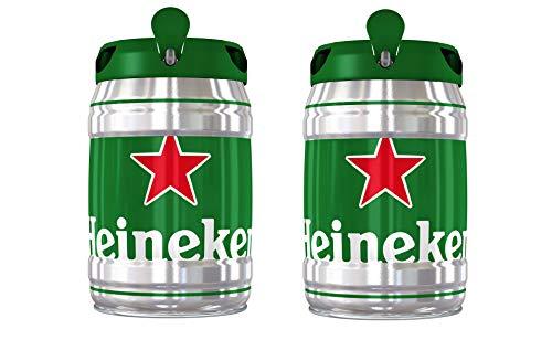 Heineken Cerveza, Barril 2 x 5L - 10L