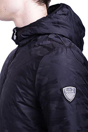 Doudoune EA7 6XPB56 Noir Motif Camouflage Noir