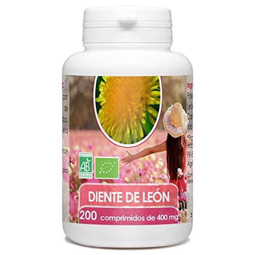 Diente de León Orgánico - 400mg - 200 comprimidos