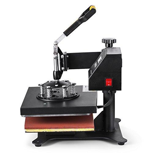 5 IN 1 12x10 pulgadas para las camisetas El marco de acero rígido del contador de tiempo de la LCD 30x24cm