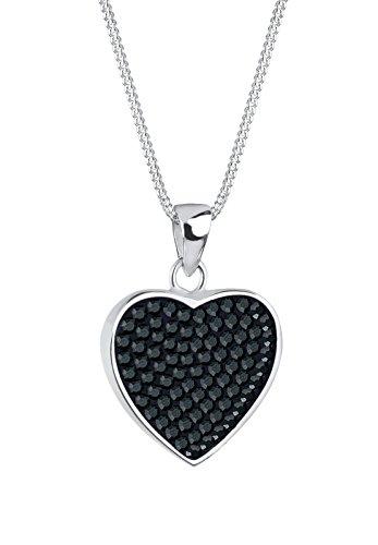 Donna-collana+con+ciondolo+a+forma+di+cuore+925+argento+cristallo+nero+brillante+-+0103121511_45