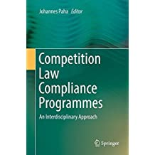 Competition Law Compliance Programmes: An Interdisciplinary Approach