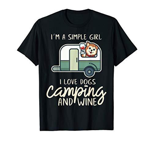 Ich Bin Ein Einfaches Mädchen Ich Liebe Hunde Camping Und W