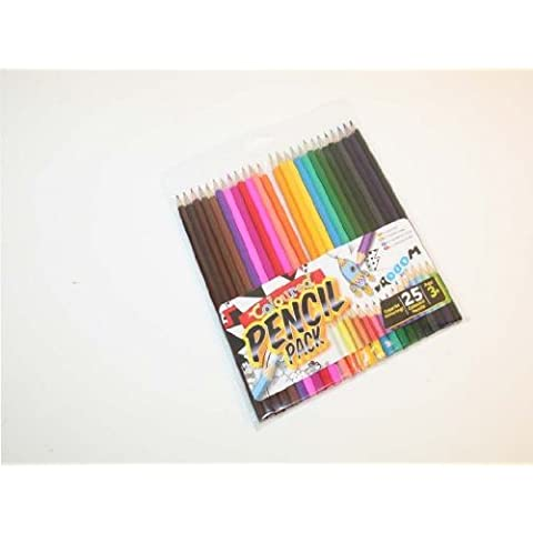 Stationery - Matite colorate, confezione da 24,