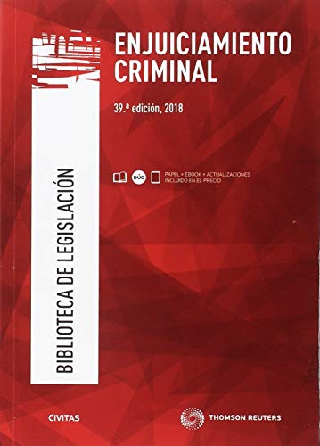 Enjuiciamiento criminal (Biblioteca de Legislación) por Departamento de Redacción Civitas