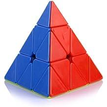 Funs (TM) Pyraminx Stickerless Speed Cube.