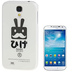 COOTOO Moustache Pattern Plastic Case for Samsung Galaxy S4 / i9500
