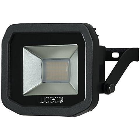 Luceco lfs18b130EU a +, LED–luce faretto in alluminio, 22Watts, Nero, 35x 31x 17cm