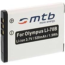 Batería Li-70b para Olympus FE-4020, FE-4040, FE-5040, X-940