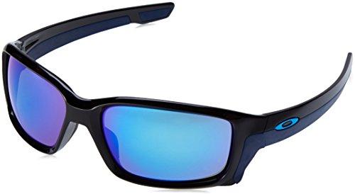 Oakley Unisex-Erwachsene Straightlink OO9331 Sonnenbrille, Schwarz (Negro/Azul), 0