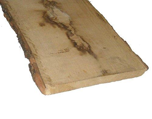 Rustikale Eichenbretter 30mm stark, unbesäumt Mindestbreite 20 cm verschiedene Längen wählbar. (50 cm lang)